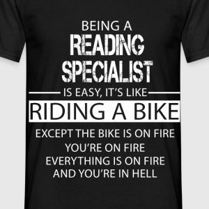 Reading Specialist T-Shirts - Men's T-Shirt