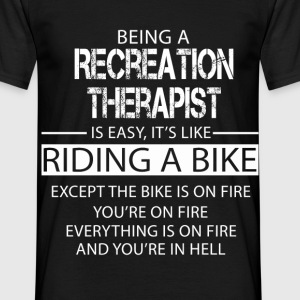 Recreation Therapist T-Shirts - Men's T-Shirt