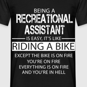 Recreational Assistant T-Shirts - Men's T-Shirt