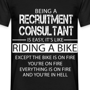 Recruitment Consultant T-Shirts - Men's T-Shirt