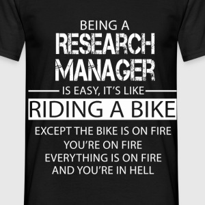 Research Manager T-Shirts - Men's T-Shirt