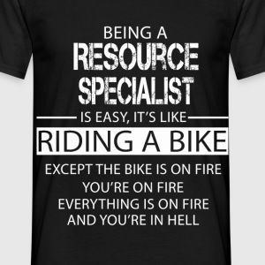 Resource Specialist T-Shirts - Men's T-Shirt