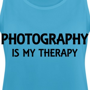 Photography is my therapy Sportkleding - Vrouwen tanktop ademend