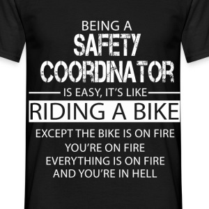 Safety Coordinator T-Shirts - Men's T-Shirt