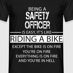 Safety Officer T-Shirts - Men's T-Shirt