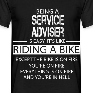 Service Adviser T-Shirts - Men's T-Shirt