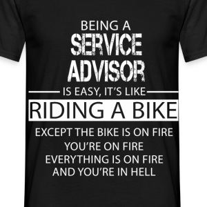 Service Advisor T-Shirts - Men's T-Shirt
