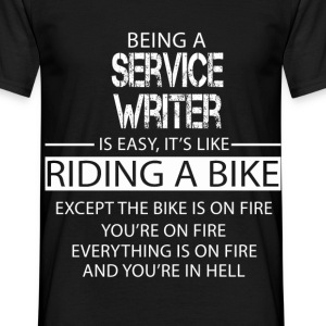 Service Writer T-Shirts - Men's T-Shirt
