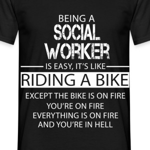 Social Worker T-Shirts - Men's T-Shirt