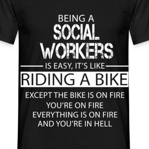 Social Workers T-Shirts - Men's T-Shirt