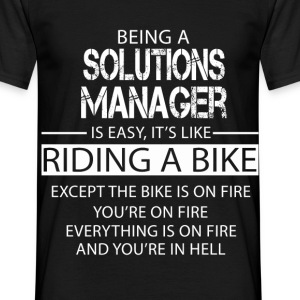 Solutions Manager T-Shirts - Men's T-Shirt