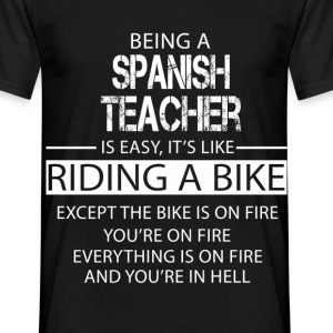 Spanish Teacher T-Shirts - Men's T-Shirt