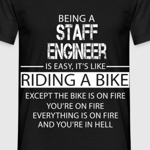 Staff Engineer T-Shirts - Men's T-Shirt