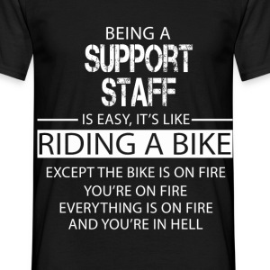 Support Staff T-Shirts - Men's T-Shirt
