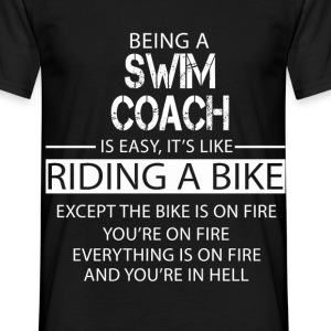 Swim Coach T-Shirts - Men's T-Shirt