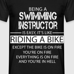 Swimming Instructor T-Shirts - Men's T-Shirt