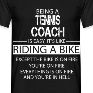Tennis Coach T-Shirts - Men's T-Shirt