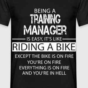 Training Manager T-Shirts - Men's T-Shirt
