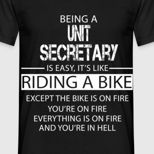Unit Secretary T-Shirts - Men's T-Shirt