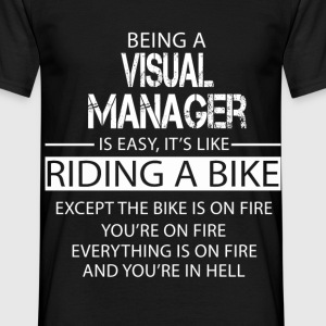 Visual Manager T-Shirts - Men's T-Shirt