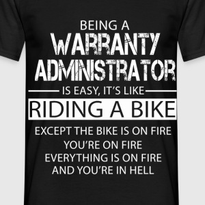 Warranty Administrator T-Shirts - Men's T-Shirt