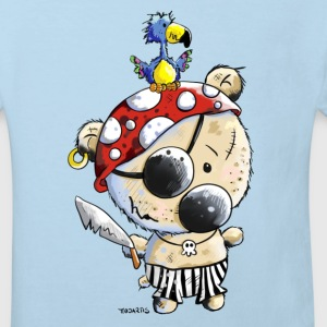 Pirate Bear Shirts - Kids' Organic T-shirt