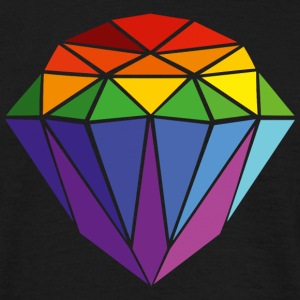 Pride Diamond T-Shirts - Men's T-Shirt