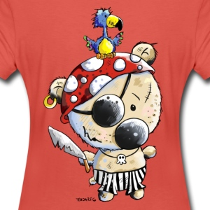 Pirate Bear T-Shirts - Women's Premium T-Shirt
