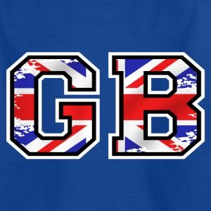 Gb great britain 2 Tee shirts - T-shirt Ado