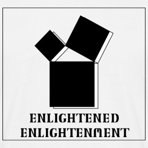 Enlightened Enlightement - Triple Square - B&W 2.0 T-Shirts - Männer T-Shirt