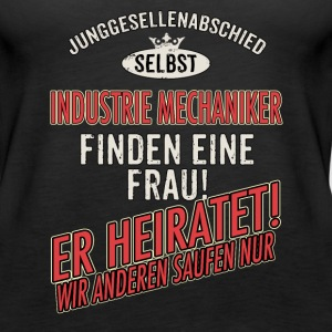 JGA Team - Industrie Mechaniker - US clean Style red grey - RAHMENLOS Berufe Geschenk Tops - Frauen Premium Tank Top