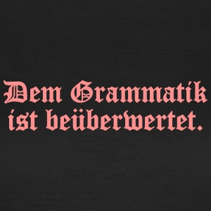 spassprediger.de presents: Grammatik T-Shirts - Frauen T-Shirt