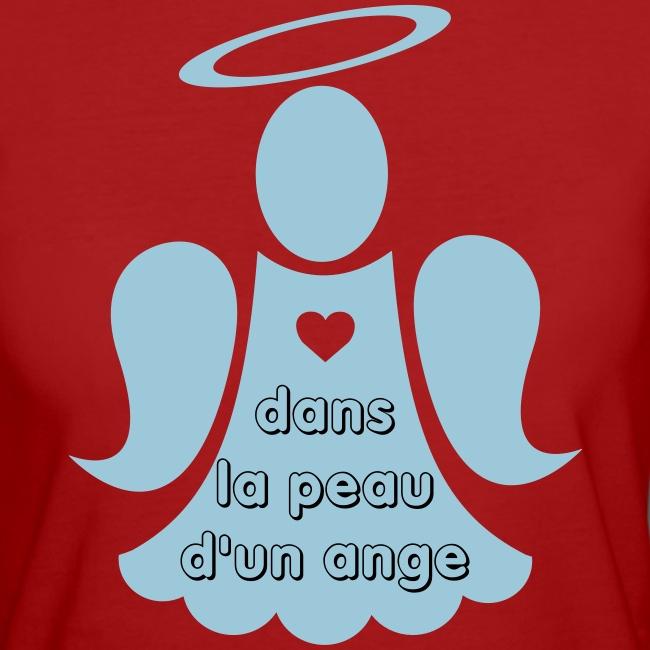 T-shirt bio femme Dans la peau d'un ange