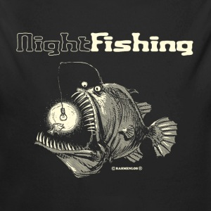 night fishing Baby Bodys - Baby Bio-Langarm-Body