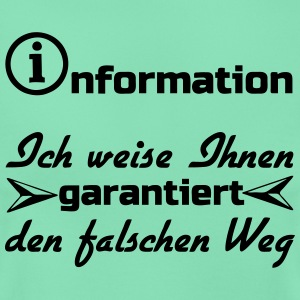 Information Humor T-Shirts - Frauen T-Shirt