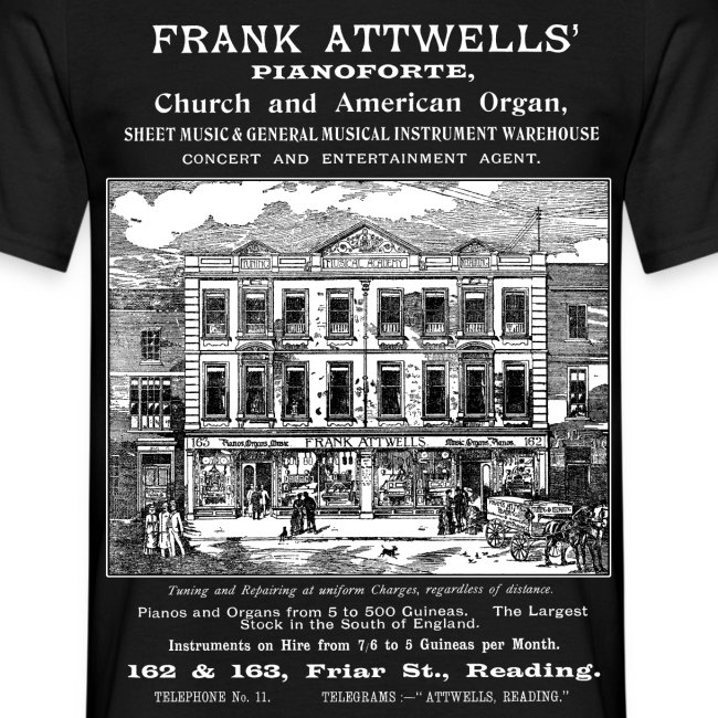 Frank Attwells', Reading (Front)
