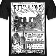 Design ~ Butler's Old Abbey Whisky, Reading (Front)