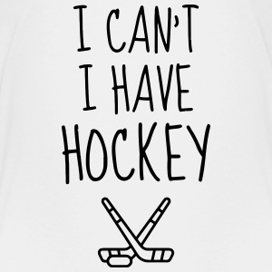 Hockey - Cross - Eishockey - Skater - Ice Hockey T-shirts - Premium-T-shirt tonåring