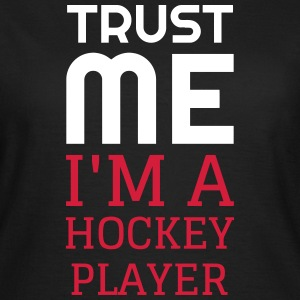Hockey - Cross - Eishockey - Skater - Ice Hockey T-Shirts - Women's T-Shirt
