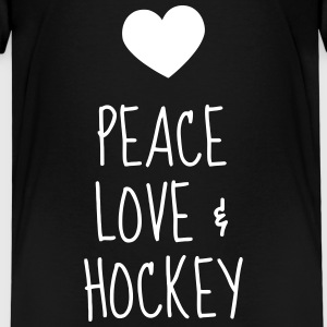 Hockey - Cross - Eishockey - Skater - Ice Hockey Camisetas - Camiseta premium niño