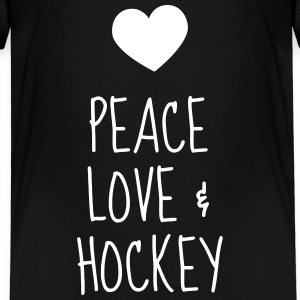 Hockey - Cross - Eishockey - Skater - Ice Hockey T-shirts - Premium-T-shirt barn