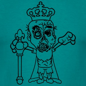 royal prince albert scepter crown nasty disgusting T-Shirts - Men's T-Shirt