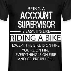 Account Supervisor T-Shirts - Men's T-Shirt