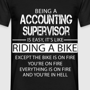 Accounting Supervisor T-Shirts - Men's T-Shirt