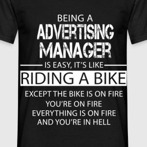 Advertising Manager T-Shirts - Men's T-Shirt