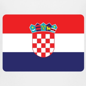 KROATIË IS NO. 1 Shirts - Teenager Premium T-shirt