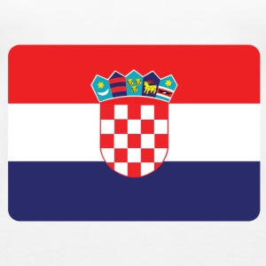 CROATIA IS NO. 1 Tops - Women's Premium Tank Top