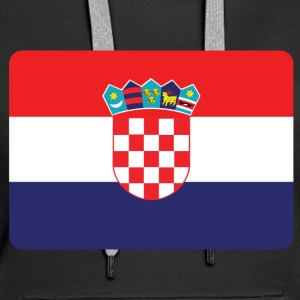 CROATIA IS NO. 1 Hoodies & Sweatshirts - Women's Premium Hoodie