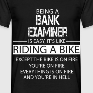 Bank Examiner T-Shirts - Men's T-Shirt