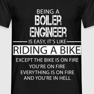 Boiler Engineer T-Shirts - Men's T-Shirt